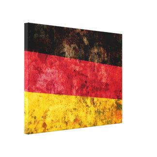 Germany Flag Canvas Print