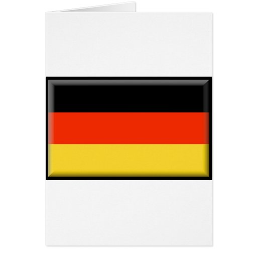 Germany Flag Greeting Cards