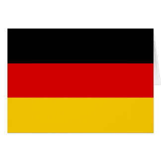 Germany Flag Stationery Note Card