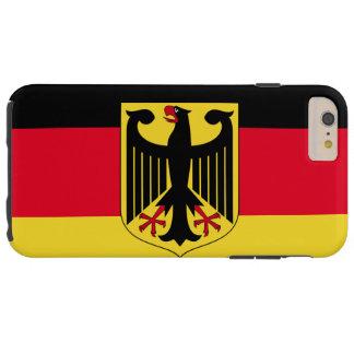 Germany Flag Tough iPhone 6 Plus Case