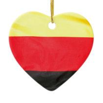 Germany Flag Ceramic Ornament