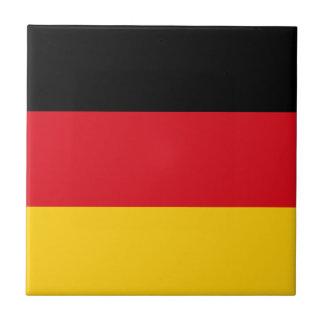Germany flag ceramic tile