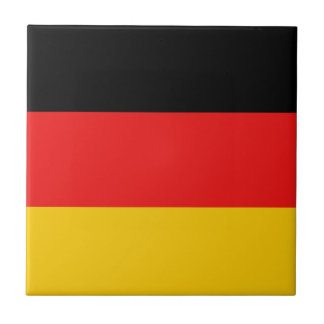 Germany Flag Ceramic Tile