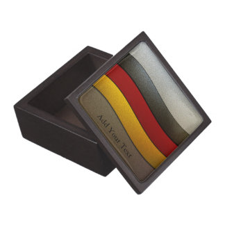 Germany Flag Colors-Chrome by Shirley Taylor Gift Box