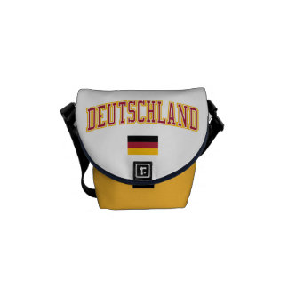 Germany + Flag Courier Bag