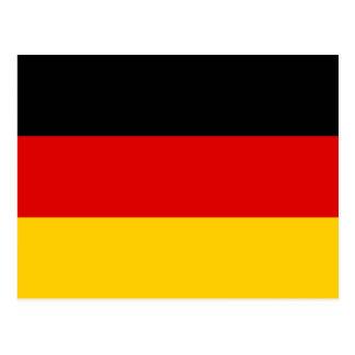 Germany Flag DE Postcard