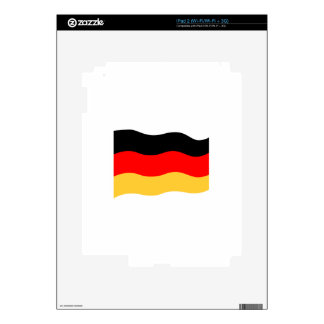 Germany Flag Decals For The iPad 2