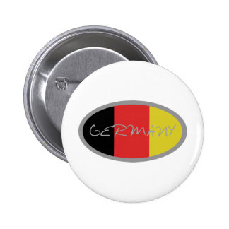Germany Flag design! Button