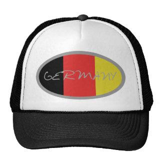 Germany flag design! trucker hat