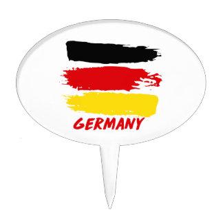 Germany flag designs cake topper