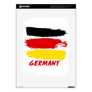 Germany flag designs iPad 3 decals