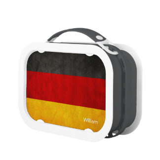 Germany Flag Deutschland Flag Vintage Grunge Style Replacement Plate