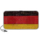 GERMANY FLAG Doodle Speaker