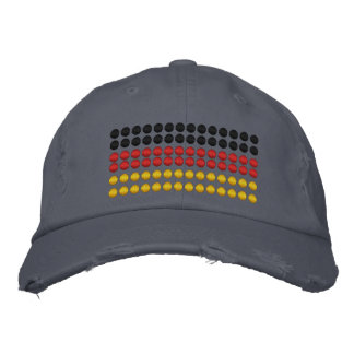 Germany Flag Embroidered Baseball Hat