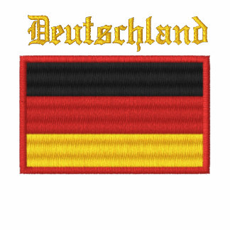 Germany Flag Embroidered Shirt