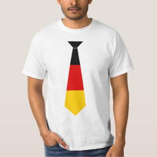 Germany Flag Fake Tie T-shirt