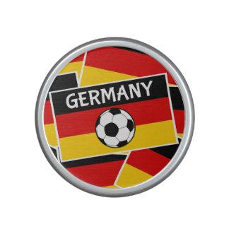 Germany Flag Football Bluetooth Speaker