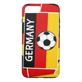 Germany Flag Football iPhone 8 Plus/7 Plus Case