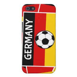 Germany Flag Football iPhone SE/5/5s Case