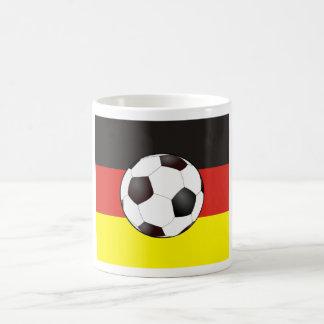 Germany flag football coffee mugs
