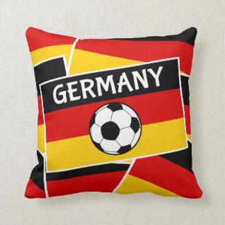 Germany Flag Football Pillow