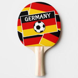 Germany Flag Football Ping Pong Paddle