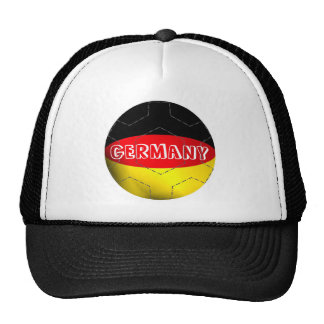 Germany flag football soccer hat