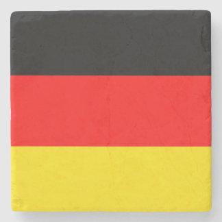 Germany flag stone beverage coaster