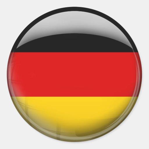 Germany Flag Stickers Zazzle