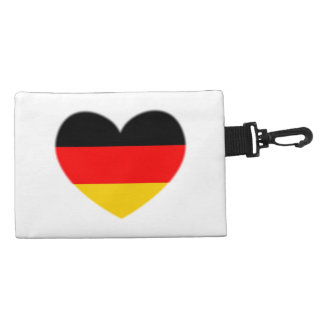 Germany Flag Heart Accessories Bags