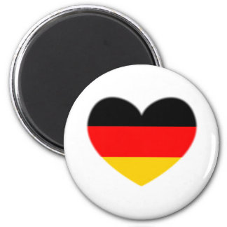Germany Flag Heart Magnet