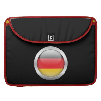 Germany Flag in Orb Sleeves For MacBooks