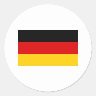 Germany FLAG International Classic Round Sticker