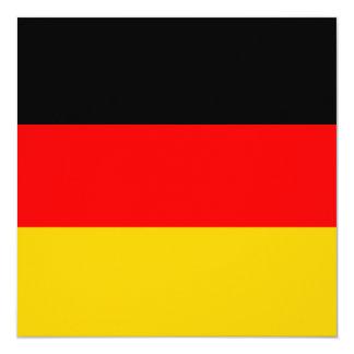 Germany Flag Invitation