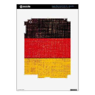 GERMANY FLAG iPad Skin