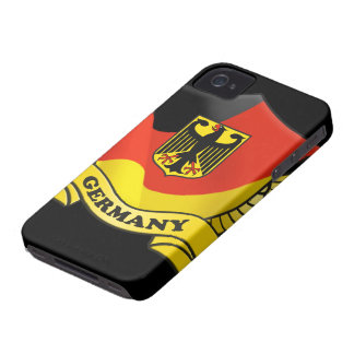 Germany Flag iPhone 4/4S Case-Mate Barely There iPhone 4 Cover