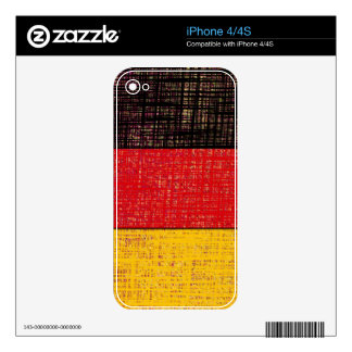 GERMANY FLAG iPhone Skin Skin For The iPhone 4S