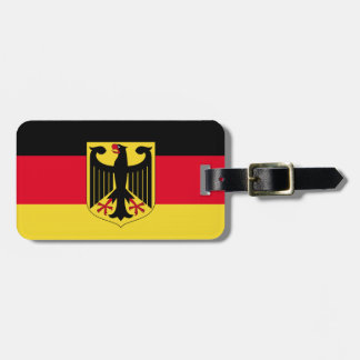 Germany Flag Luggage Tag