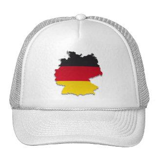 Germany Flag Map_2 Hats