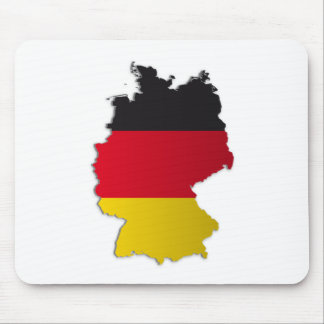 Germany Flag Map Mouse Pad