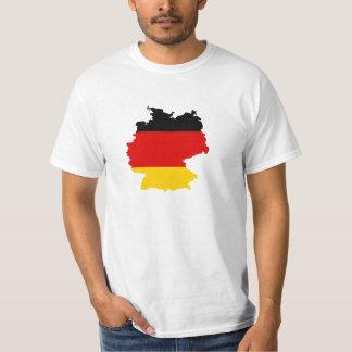 Germany Flag-map T-Shirt
