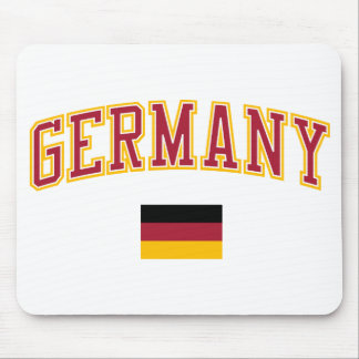 Germany + Flag Mouse Pad