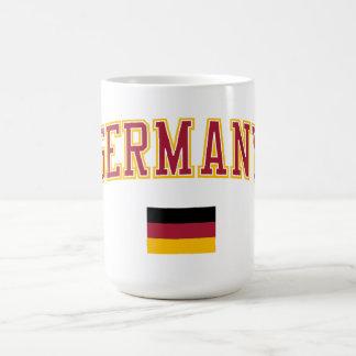 Germany + Flag Coffee Mugs