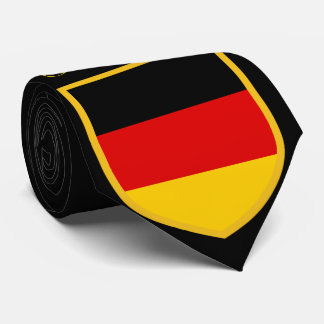 Germany Flag Personalized Tie