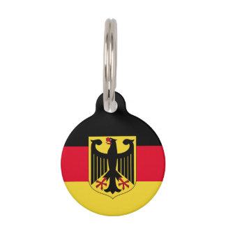 Germany Flag Pet Name Tag