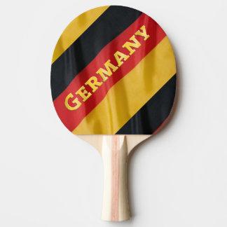 Germany Flag Ping-Pong Paddle