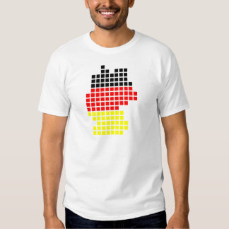 Germany flag pixel Germany Design Shirt