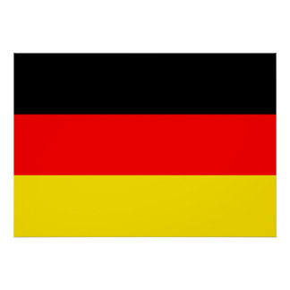 Germany Flag Print