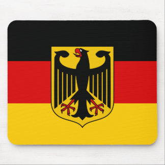 Germany flag quality mouse pad