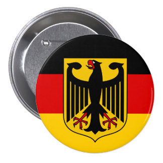Germany flag quality pinback button